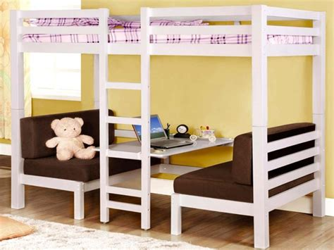 bunk beds with a futon on the bottom bunk beds bunk bed with futon and desk trundle ana