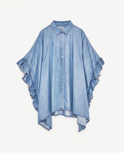 camicia con volant oltre 25 fantastiche idee su camicia con volant su