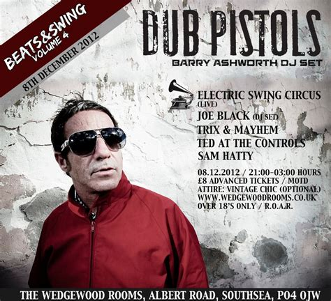 barry ashworth dub pistols dj show in portsmouth