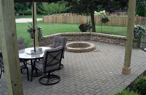 paver patio plans 85 best pits images on cfires patio