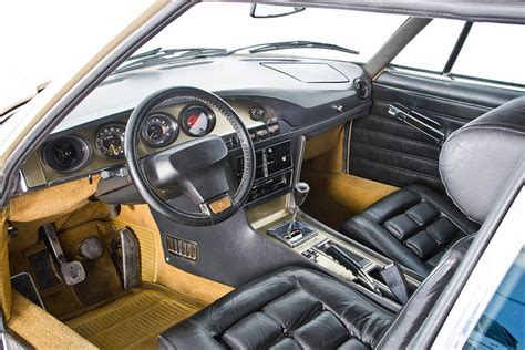 car interior upholstery philippines citroen sm 2 7i interior via flickr the wheel thing