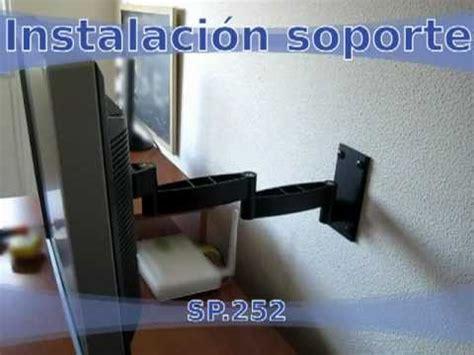 apliques carrefour instalar soporte tv led lcd doble brazo articulado de