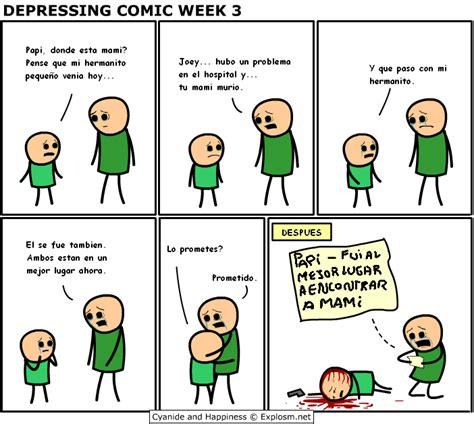 imagenes groseras comicas cyanide happiness depressing comic week todas taringa