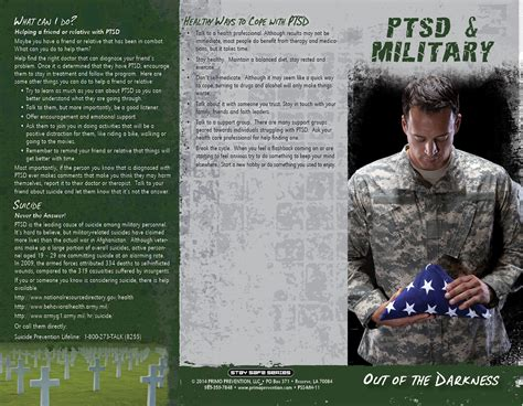 how to a for ptsd ptsd out of the darkness phlet primo prevention