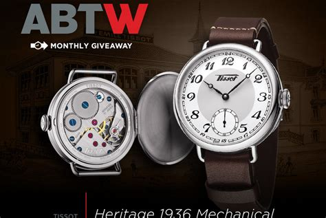 The View Audience Giveaways - ablogtowatch watch giveaway tissot heritage 1936 mechanical