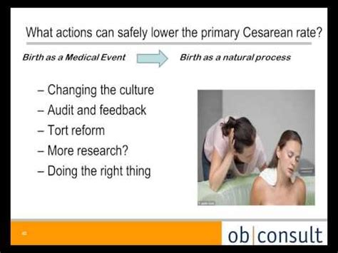review of the safe prevention of the primary cesarean
