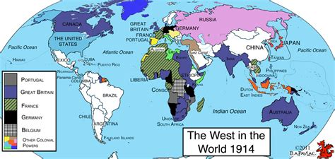 map of the world 1914 concisewesternciv