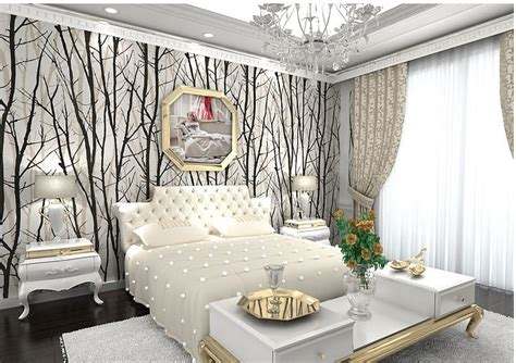 Tree Design Wallpaper Living Room by Wallpaper China Picture More Detailed Picture About Pvc