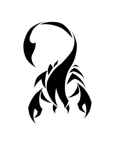 small scorpion tattoo designs scorpio images designs