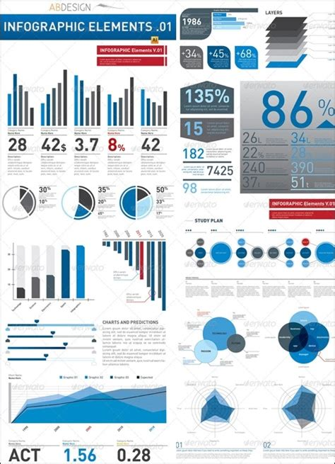 20 Powerful Infographic Design Kits Infographic Template Illustrator