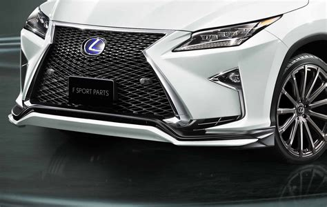 lexus trd toyota s trd division makes the lexus rx look even more