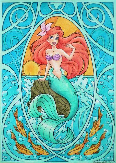 Mermaid Tosca nouveau ariel by michellewalker on deviantart
