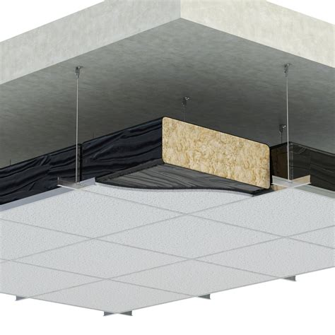 Insulation Above Ceiling Tiles by Polythene Enclosed Ceiling Pad 563 Mayplas