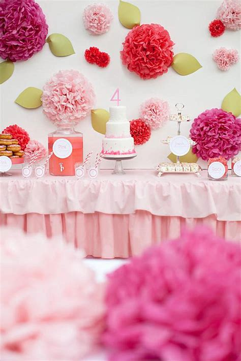 themes for little girl parties stylish fun birthday party ideas for little girls