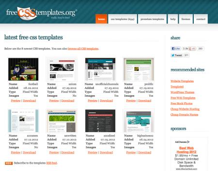 css templates for asp net websites free download 15 best sites to download free web templates