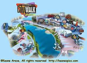 Universal Orlando Google Maps by Printable Map Of Citywalk Universal Studios Orlando
