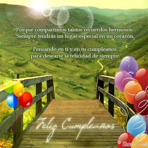 imagenes con mensajes de cumpleaños bonitos mensajes de cumplea 241 os con paisajes imagui