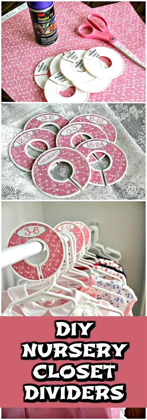 Nursery Closet Dividers Diy by 20 Easy Diy Baby Closet Dividers To Organize Baby Clothes