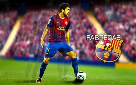 wallpaper barcelona player cesc fabregas wallpaper barcelona spirit players
