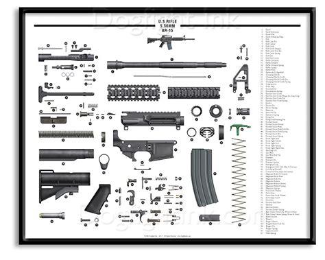 ar 15 parts diagram pdf ar 15 exploded parts diagram