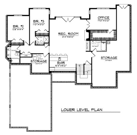 traditional 4 beds 3 baths 1856 sq ft plan 44 162 main traditional style house plan 3 beds 4 5 baths 4303 sq ft