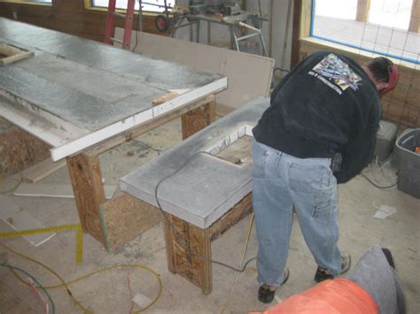 Building A Concrete Countertop by How To Build A Concrete Countertop How To Diy Network