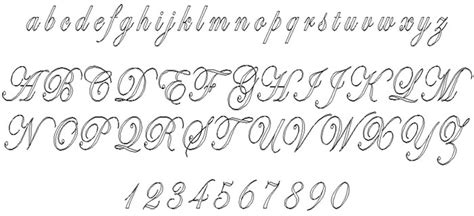 Wedding Engraving Font by Image Gallery Script Engraving