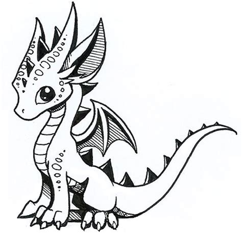 Drawing Dragons by Easy Drawings Of Dragons Www Pixshark Images