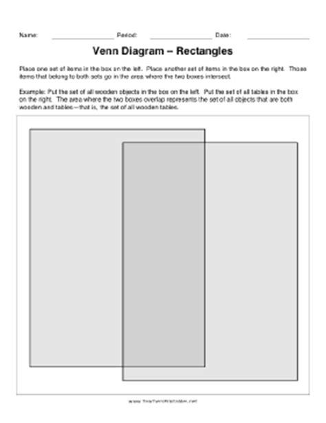 rectangular venn diagram venn diagram rectangles