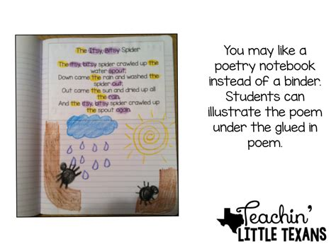 teachin texans using poetry in kindergarten why