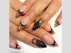 35 Stunning Pointy Nail Designs That You Want To Try ... Unique Nail Designs Pinterest