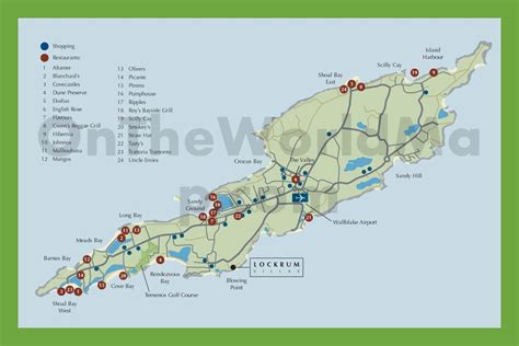 anguilla world map tourist map of anguilla