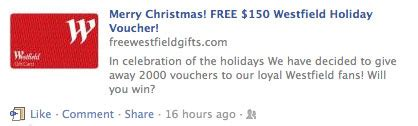 Free Gift Cards No Scams - new facebook scams making the rounds no free gift cards for you gadget guy australia