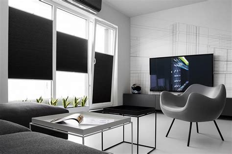 Black And White Apartment Interior Design Small Black And White Apartment In Poland Exudes Refined