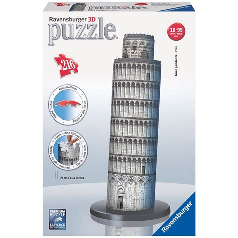 Puzzle 216 Pieces 3d puzzle 216 pieces leaning tower of pisa