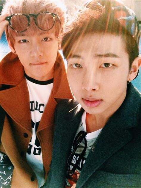 bts v siblings rapmon and taehyung s twitter update the kim siblings 3