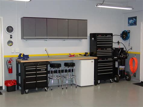 tool benches for garage garage lighting ideas made easy j birdny
