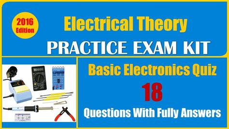 quiz questions youtube basic electronics quiz questions 18 questions with fully