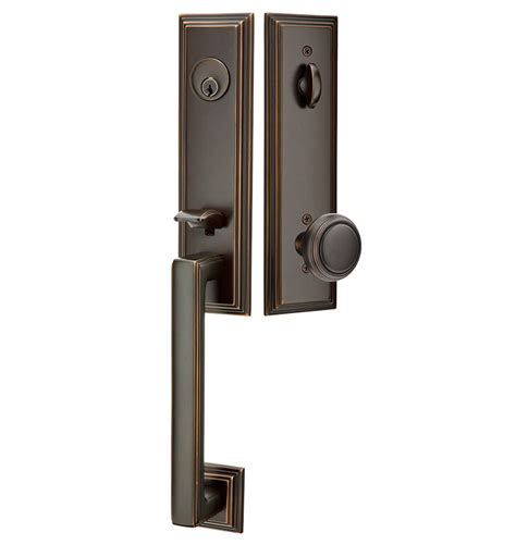 Exterior Door Lock Set Exterior Door Set Designer Entry Set 3 12 X 18 Entry Thumblatch Mortise Lock G130 In Coleman