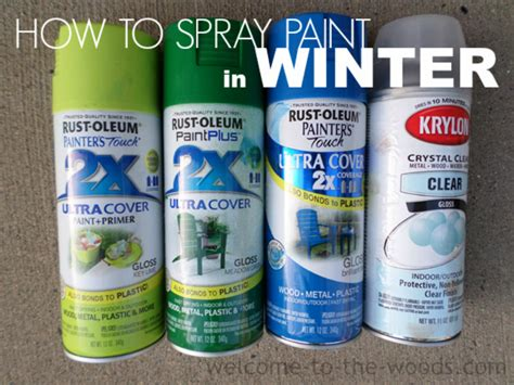 spray painting in winter spray paint in winter welcome to the woods