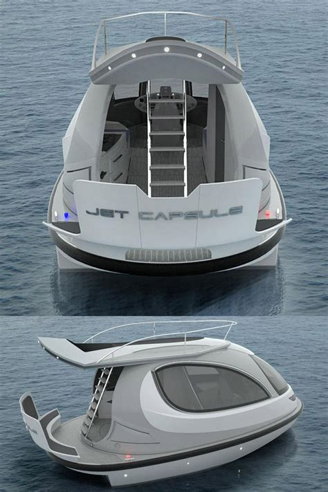ski boat yacht a jet ski and a yacht had a baby the new 2014 jet capsule