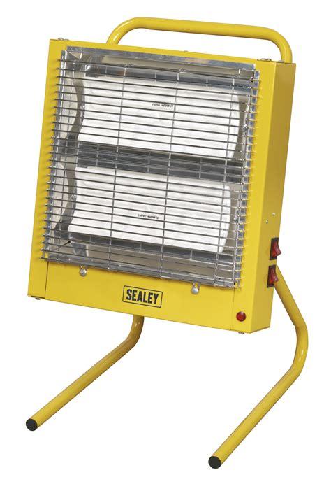 110v Heater Garage by Ceramic Heater 1 4 2 8kw 110v Sealey Ch28110v