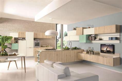 cucine soggiorni arredare soggiorno cucina idee per l open space cucine