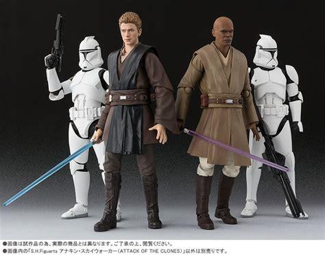 Shfiguarts Gattack toyzmag 187 s h figuarts anakin skywalker attack of the clones les images officielles