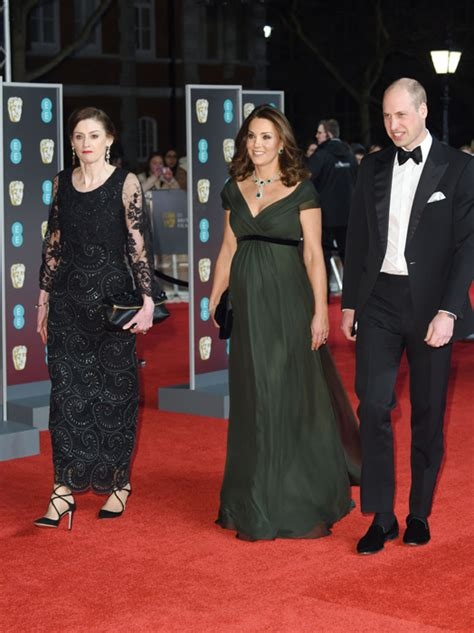 duchess kate the duchess of cambridge graces the cover of catherine duchess shows off baby bump as she graces red carpet