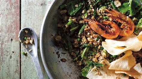 green fried rice nasi goreng hijau recipe sbs food