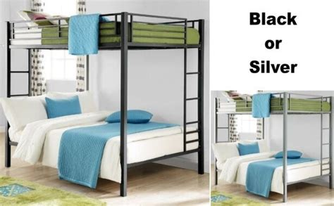 full  full size metal bunk bed beds heavy duty sturdy