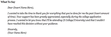 Thank You Letter For Counseling Guidance Counselor Quotes Like Success