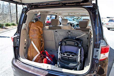 nissan quest cargo top minivan nissan quest may offer best cargo hauling in
