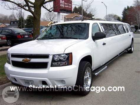 Stretch Limousine Inc by Chevy Suburban Suv Limo Stretch Limousine Inc